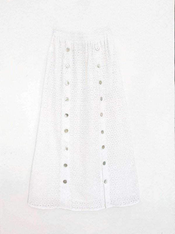 Bea Skirt Off White - EESOME