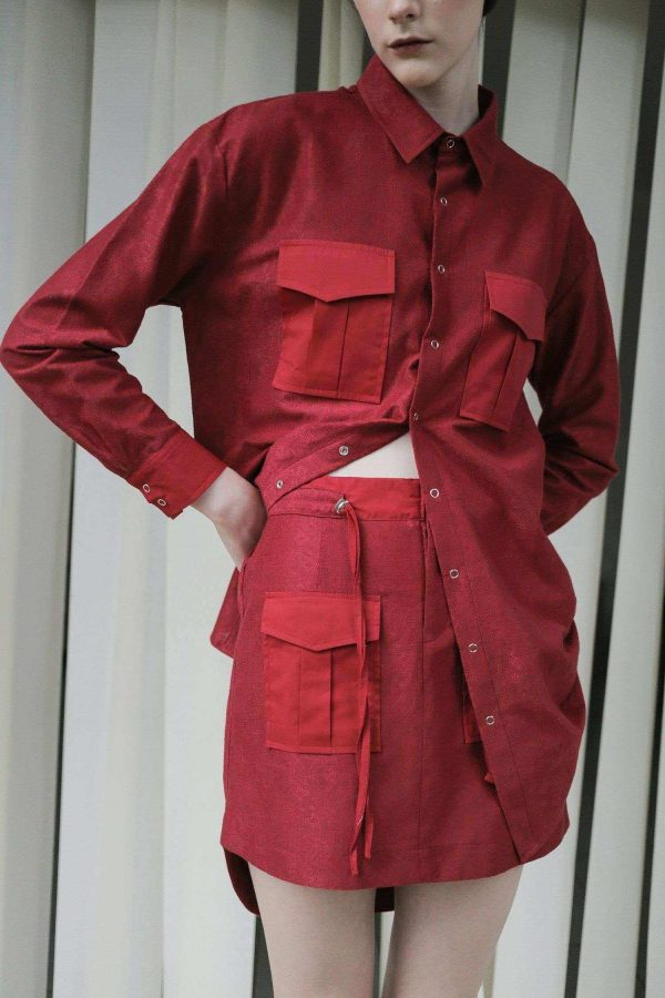 Lany Skirt Red EESOME