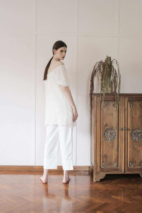 Marie Dress Transparent White EESOME