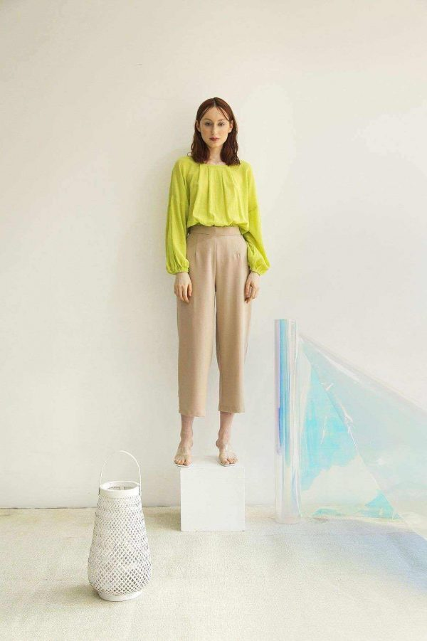 Pinna Blouse Lime EESOME