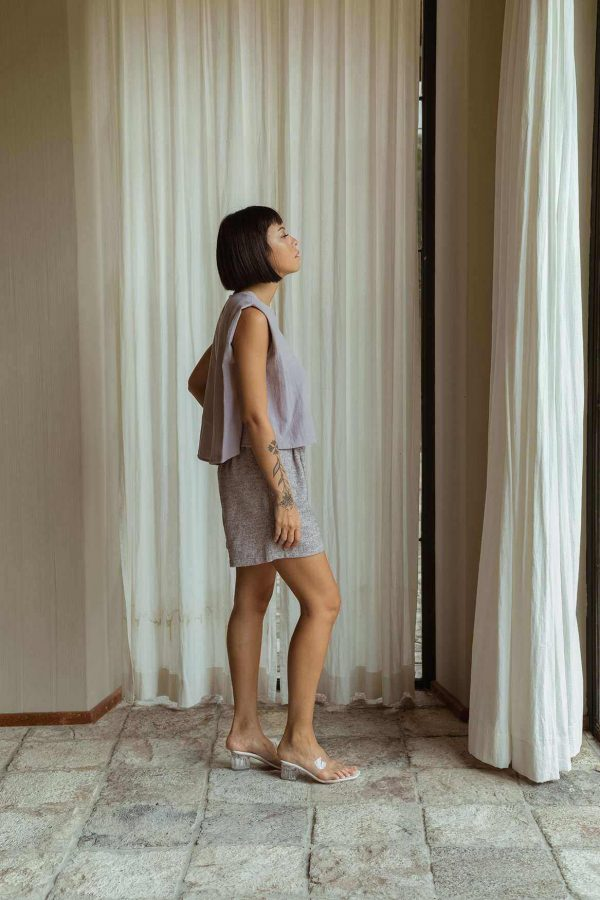 Gemma Shorts French Lilac - EESOME