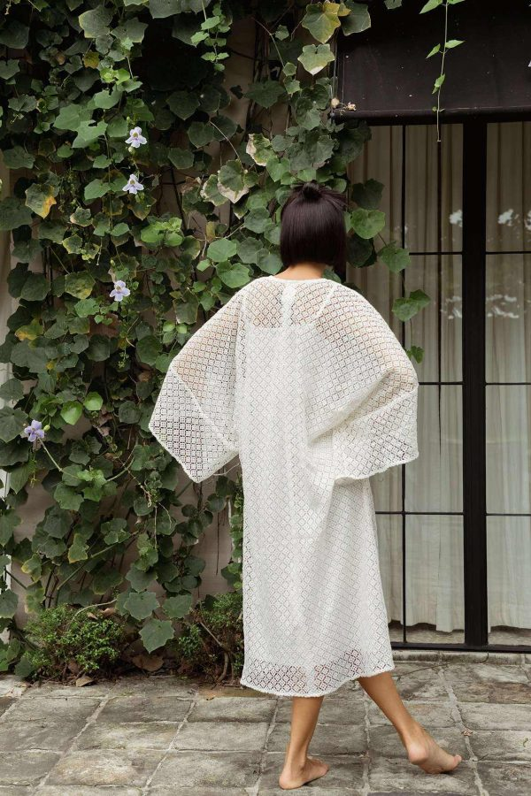 Thea Dress Off White - EESOME