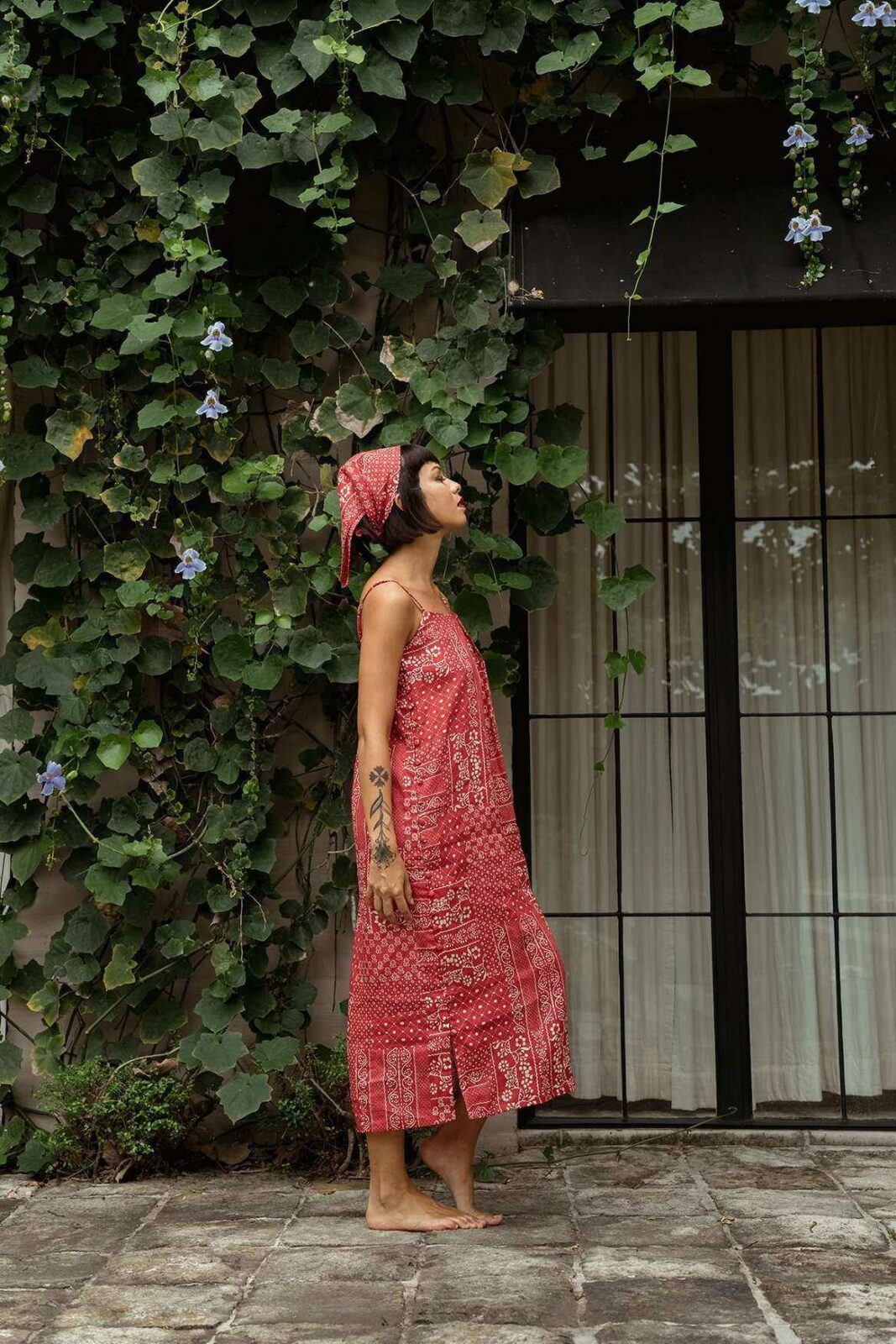 Sandy Dress Set Red - EESOME